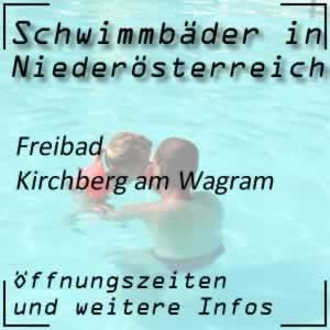 Kirchberg am Wagram: Freibad