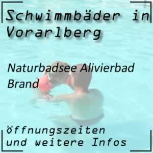 Naturbadsee Alivierbad Brand