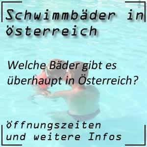 Schwimmbäder in Österreich