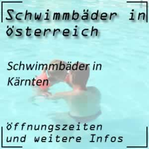 Schwimmbäder in Kärnten