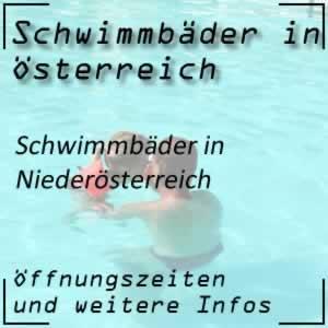 Schwimmbäder in Niederösterreich
