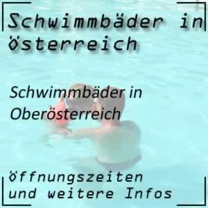 Schwimmbäder in Oberösterreich