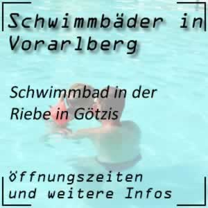 Schwimmbad in der Riebe Götzis