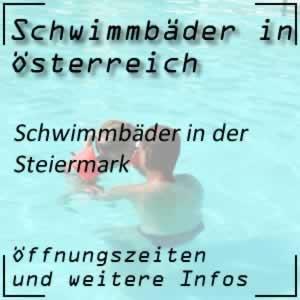Schwimmbäder in der Steiermark