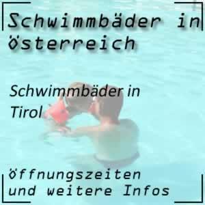 Schwimmbäder in Tirol