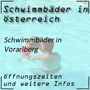 Schwimmbäder in Vorarlberg
