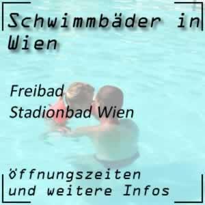 Freibad Stadionbad in Wien 2 Prater