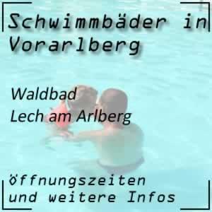 Lecher Waldschwimmbad in Lech am Arlberg