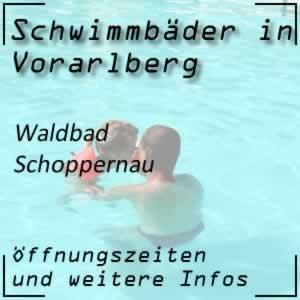 Waldbad Schoppernau Freibad