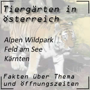 Alpen Wildpark Feld am See in Kärnten