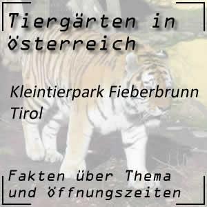 Kleintierpark Fieberbrunn in Tirol