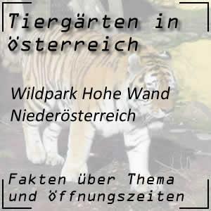 Wildpark Hohe Wand in Niederösterreich
