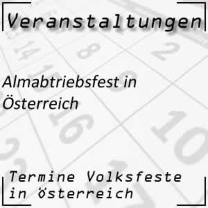 Almabtrieb / Almabtriebsfest