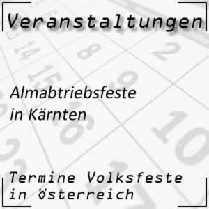Almabtriebsfest Kärnten