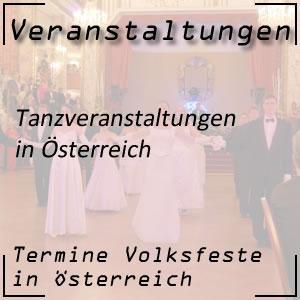 Die tollsten Tanzveranstaltungen in Österreich