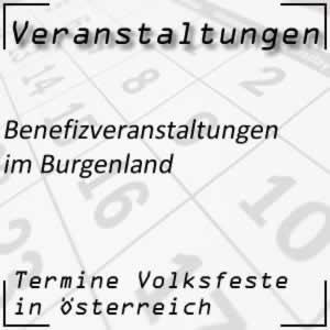 Benefizveranstaltungen im Burgenland