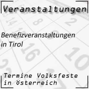 Benefizveranstaltungen Tirol