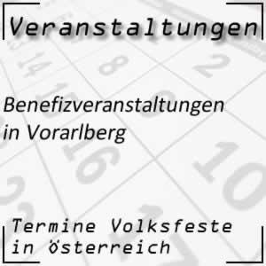 Benefizveranstaltungen Vorarlberg