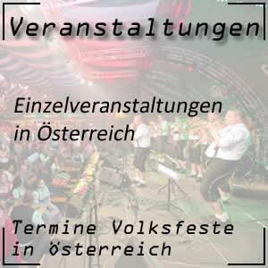 Einzelveranstaltungen in Österreich