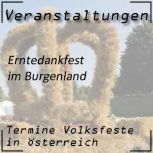 Erntedankfest Burgenland