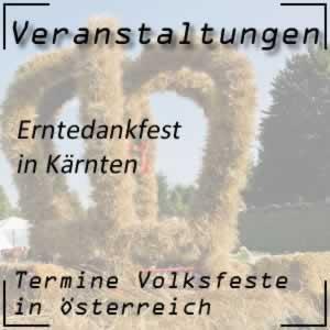 Erntedankfest Kärnten