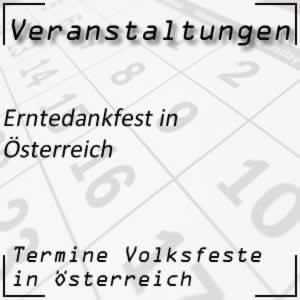 Erntedankfest in Österreich