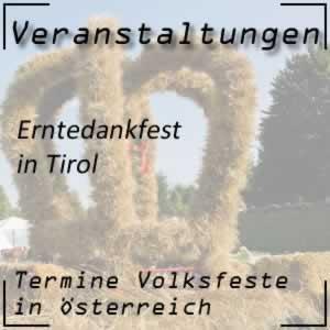 Erntedankfest Tirol