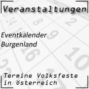 Eventkalender Burgenland Veranstaltungen