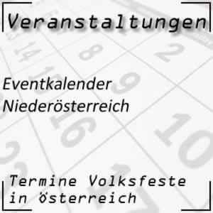 Eventkalender Niederösterreich Veranstaltungen