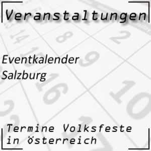 Eventkalender Salzburg Veranstaltungen