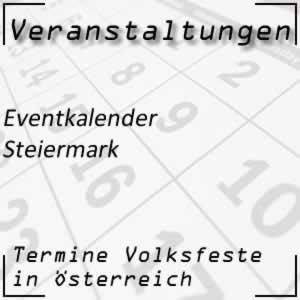 Eventkalender Steiermark Veranstaltungen
