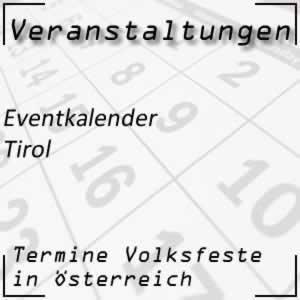 Eventkalender Tirol Veranstaltungen