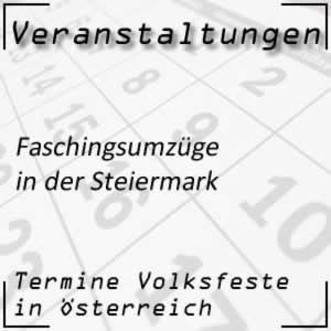 Faschingsumzüge Steiermark