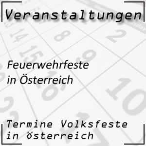 Feuerwehrfeste in Österreich