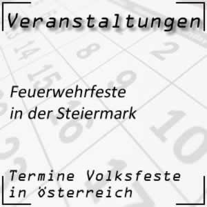 Feuerwehrfeste in der Steiermark