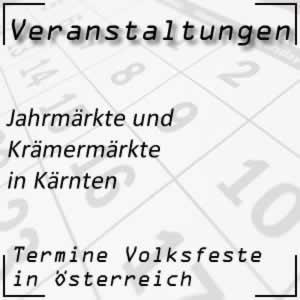 Jahrmärkte in Kärnten