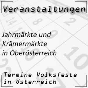 Jahrmärkte in Oberösterreich