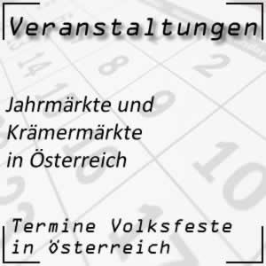 Jahrmarkt in Österreich