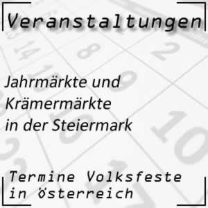 Jahrmärkte in der Steiermark