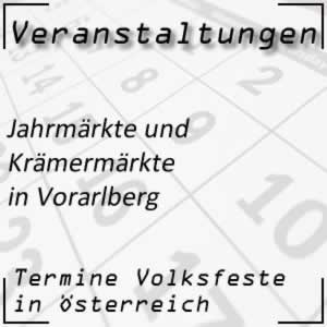 Jahrmarkt Vorarlberg