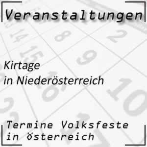 Kirtage in Niederösterreich
