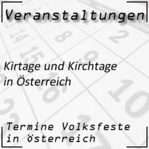 Kirtage in Österreich