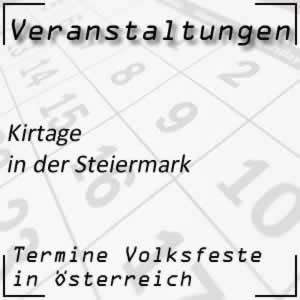 Kirtage in der Steiermark
