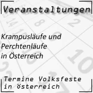 Krampusläufe und Perchtenläufe in Österreich