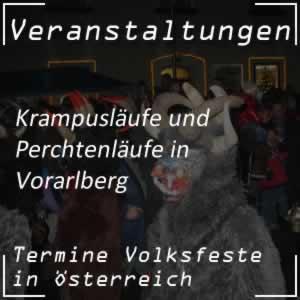 Krampuslauf Vorarlberg