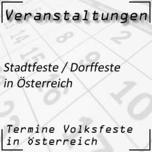 Stadtfest / Dorffest Österreich