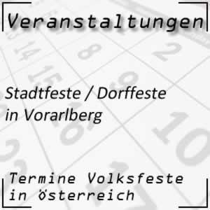 Dorffest Vorarlberg Stadtfest