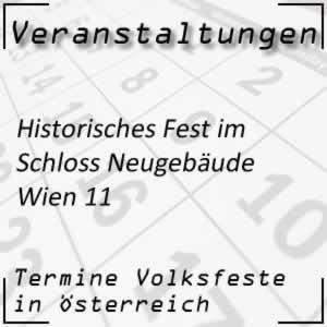 Historisches Fest Schloss Neugebäude