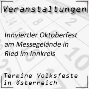Volksfest Innviertler Oktoberfest in Ried