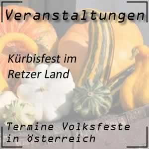 Kürbisfest Retzer Land Halloweenfest